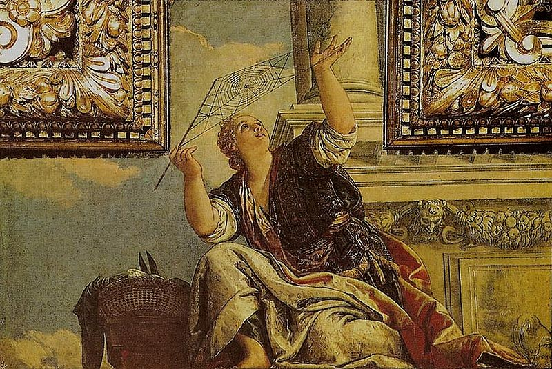 800px-Veronese,_Paolo_-_Arachne_or_Dialectics_-_1520